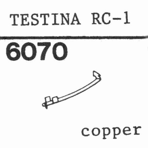 CONER TESTINA RC-1 Stylus, DS<br />Price per piece