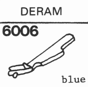 DECCA DERAM  Stylus, DS<br />Price per piece