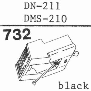 DUAL DMS-210, DN-211 Stylus, DS<br />Price per piece