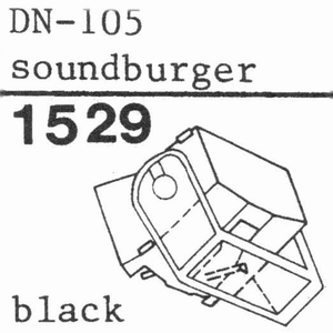 DUAL DN-105 BLACK Stylus, COPY<br />Price per piece