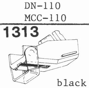 DUAL DN-110 - 0,4 MILLIVOLT Stylus