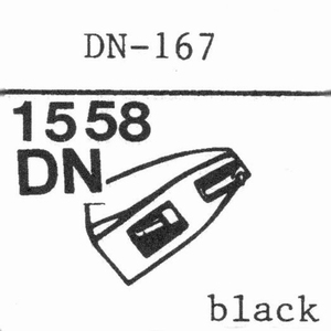 DUAL DN-167 78 RPM DIAMOND COPY Stylus, DN <br />Price per piece