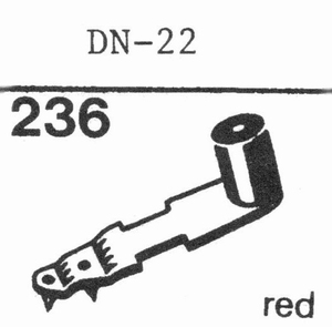 DUAL DN-22 Stylus, SS/DS<br />Price per piece