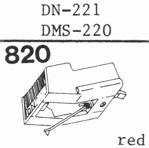DUAL DN-221 Stylus<br />Price per piece