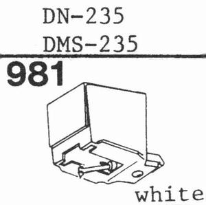 DUAL DN-235,DN-239, DENON DP29 Stylus, DS<br />Price per piece