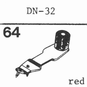 DUAL DN-32 Stylus, SS/DS<br />Price per piece