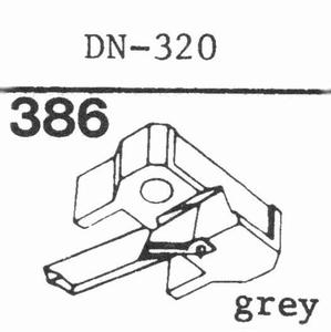 DUAL DN-320 - SHURE N-75 G II Stylus<br />Price per piece