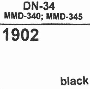 DUAL DN-34 (TBV MMD-340/345) Stylus<br />Price per piece