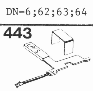 DUAL DN-6; 85 Stylus, SN/DS<br />Price per piece