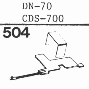 DUAL DN-70, CDS-700 Stylus, DS<br />Price per piece