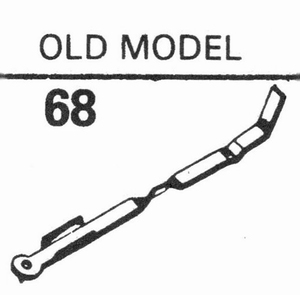 EDEN OLD MODEL 78 RPM SAPPHIRE Stylus, SN<br />Price per piece