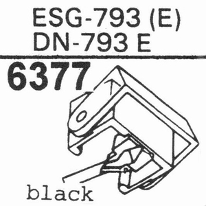 ELAC D-793 E Stylus, DE<br />Price per piece