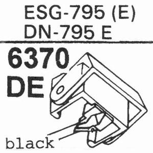 ELAC D-795 E Stylus, DE