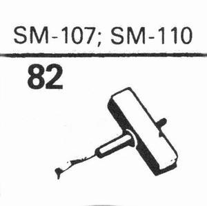 ELAC SM-107, SM-110 Stylus, DS<br />Price per piece