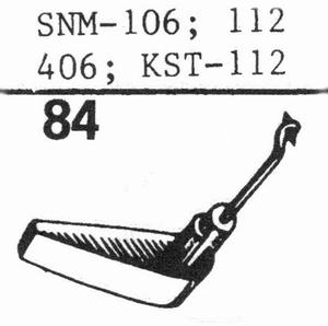 ELAC SNM-106; DMSN-112 Stylus, SS/DS<br />Price per piece