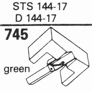 ELAC STS 144-17; D 144-17 Stylus, DS<br />Price per piece