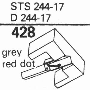 ELAC STS-244-17; D-244-17 Stylus, DS<br />Price per piece