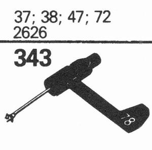 ELECTRO VOICE 37; 38; 47; 72 Stylus, SN/DS