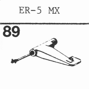 ELECTRONIC REPRODUCERS ER 5 MX Stylus, SS/DS<br />Price per piece