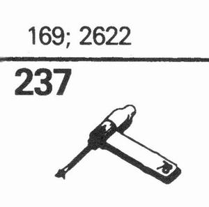 ELECTRO VOICE 169; 2622 Stylus, SS/DS<br />Price per piece
