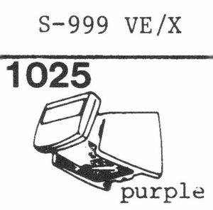 EMPIRE S-999 VE/X Stylus<br />Price per piece