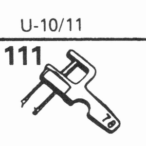 EUPHONICS U-10/11 Stylus, SN/DS<br />Price per piece