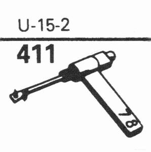EUPHONICS U-15/2 Stylus, SN/DS<br />Price per piece
