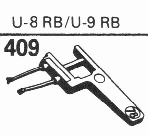 EUPHONICS U-8 RB/U-9 RB Stylus, SN/DS<br />Price per piece