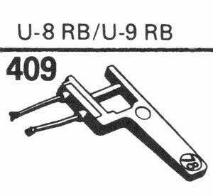 EUPHONICS U-8 RB/U-9 RB Stylus, SN/DS