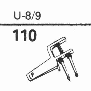 EUPHONICS U-8/9 Stylus, SN/DS<br />Price per piece
