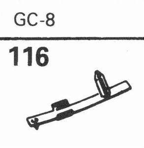 GARRARD GC-8 Stylus, DN<br />Price per piece
