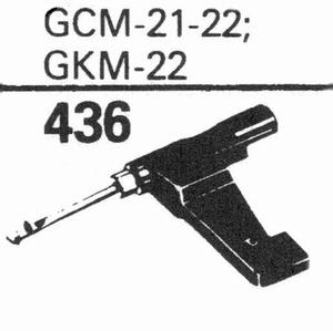 GARRARD GCM-21-22, GKM-22 Stylus, SS/DS<br />Price per piece