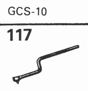 GARRARD GCS-10 Stylus, DS<br />Price per piece