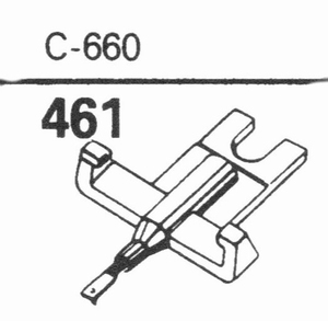 GENERAL ELECTRIC C-660 Stylus, DS<br />Price per piece