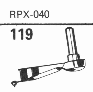 GENERAL ELECTRIC RPX-040 Stylus, DS<br />Price per piece