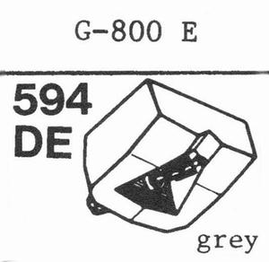 GOLDRING G-800 E(D-110 E) Stylus, DE<br />Price per piece