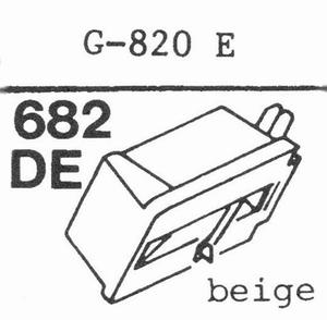 GOLDRING G-820 E Stylus, DE<br />Price per piece