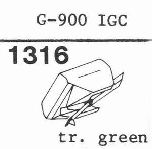 GOLDRING G-900 IGC Stylus, HYPEL
