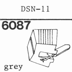 JAPAN COLUMBIA (DENON) DSN-11 Stylus, diamond, stereo