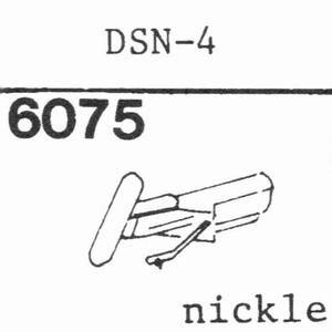 JAPAN COLUMBIA (DENON) DSN-4 Stylus, DS<br />Price per piece