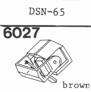 JAPAN COLUMBIA (DENON) DSN-65 Stylus, DE<br />Price per piece