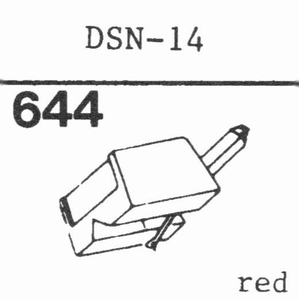 JAPAN COLUMBIA DSN-14 Stylus, DS<br />Price per piece