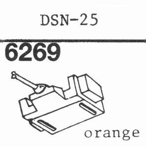 JAPAN COLUMBIA DSN-25 Stylus, DS<br />Price per piece