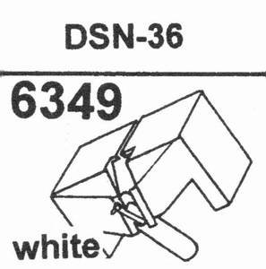 JAPAN COLUMBIA DSN-36 Stylus, DS<br />Price per piece