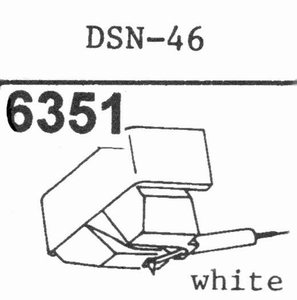 JAPAN COLUMBIA DSN-46 Stylus, DE<br />Price per piece