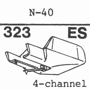 KENWOOD N-40, N-42 Stylus, ES