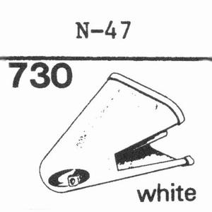 KENWOOD N-47 Stylus, DS<br />Price per piece