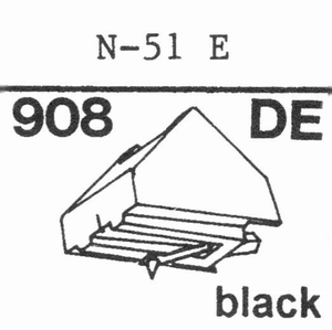KENWOOD N-50 E Stylus, DE