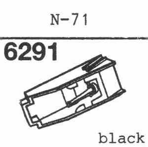 KENWOOD/TRIO N-71 Stylus, DS-OR
