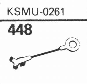 KSMU-0261 WEHKAMP Stylus, SN/DS